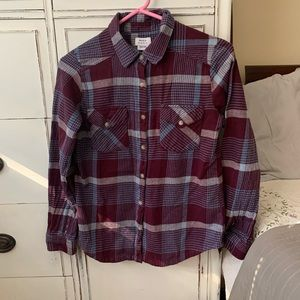 RVCA flannel shirt